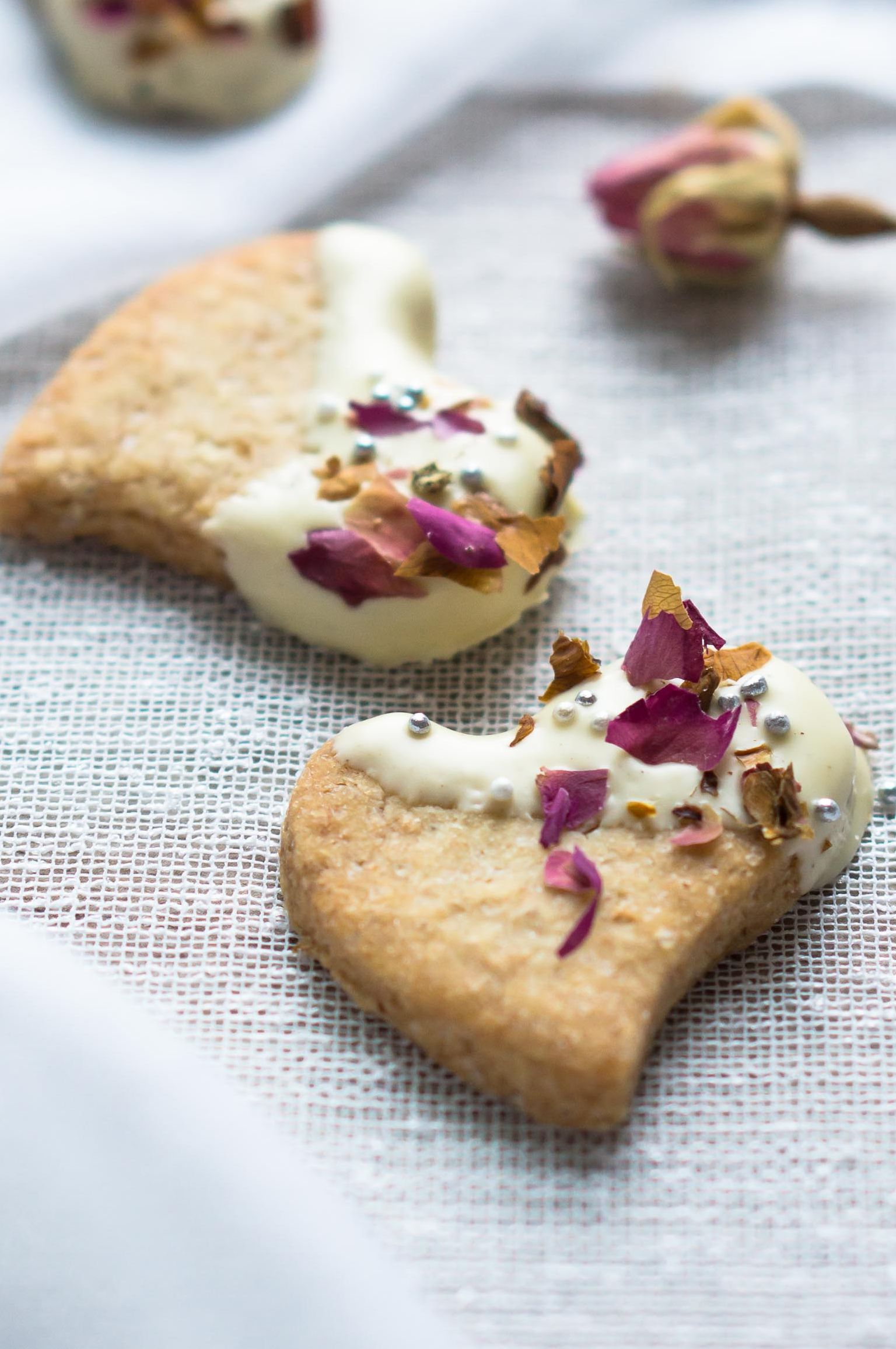 Cardamom and Rosewater Biscuits