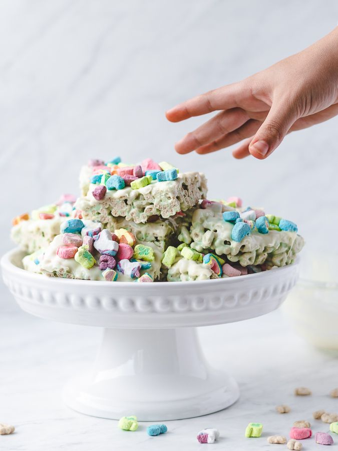 Colorful Cereal Treats