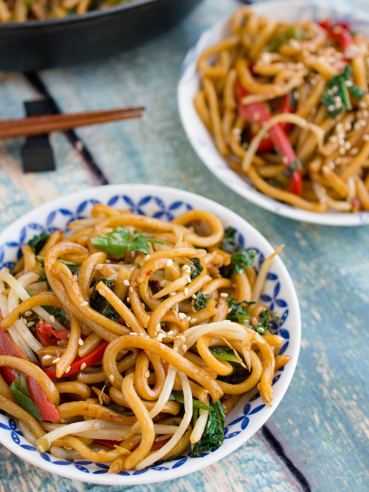 Udon Stir Fry with Vegetables