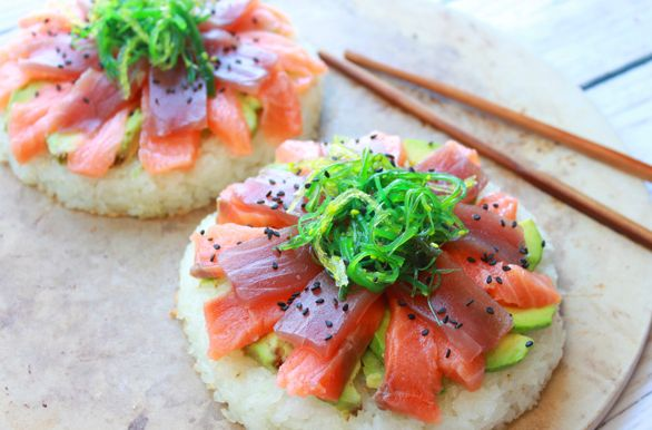 Easy Sushi Pizza