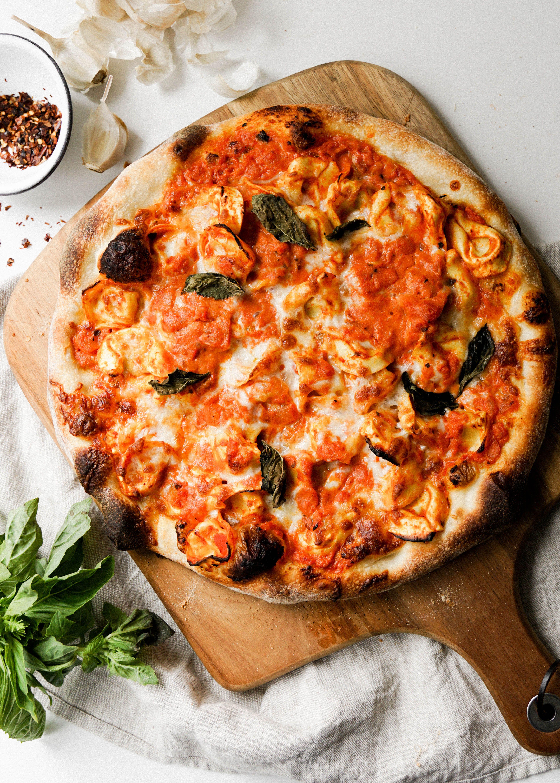 Tortellini Vodka Sauce Pizza