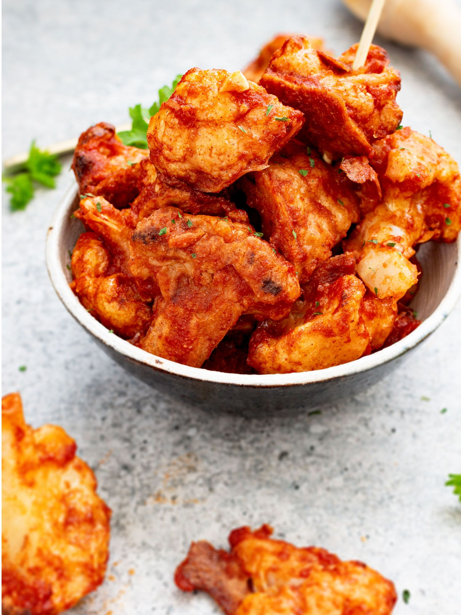 Buffalo Spiced Cauliflower