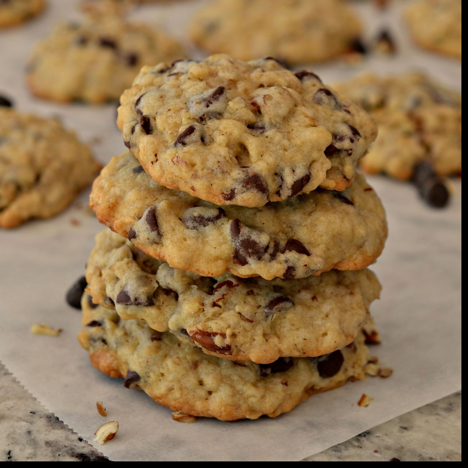 Chewy Cowboy Cookies