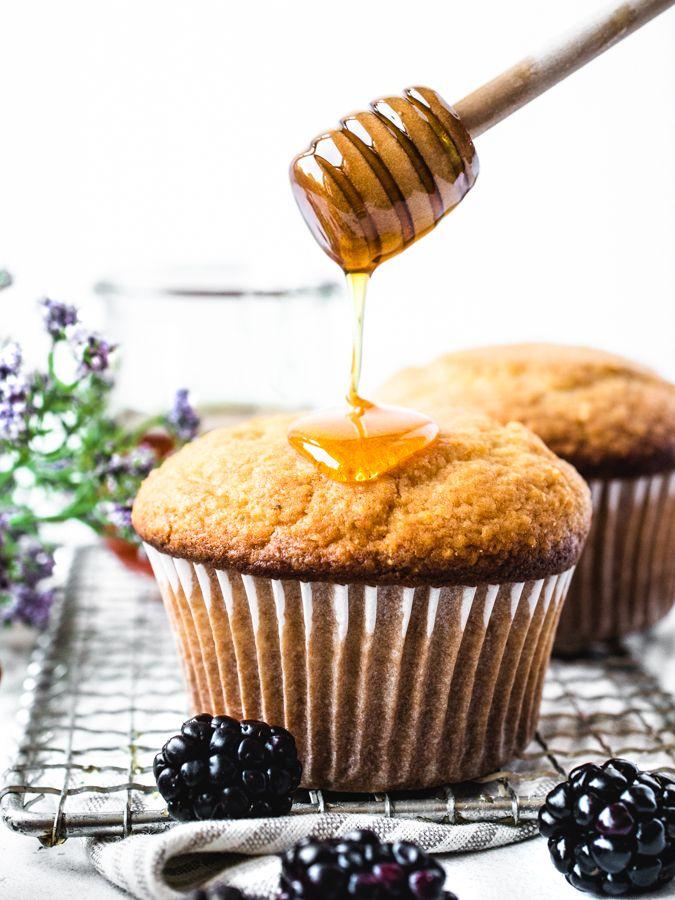 Sweet Honey Corn Muffins